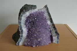 Amethyst-Druse/Geode (Bruchstück) - 1