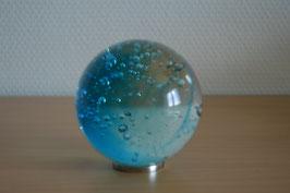 Glaskugel 8 cm, türkis, kalibriert
