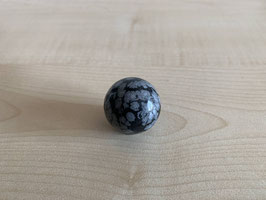 Schneeflocken-Obsidian-Kugel 3 cm