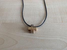 Landschafts-Jaspis-Kreuz-Anhänger, Quadrat