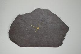 Uhr auf Verrucano-Schieferplatte