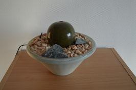 Zimmerbrunnen mit Keramik-Sprudelkugel