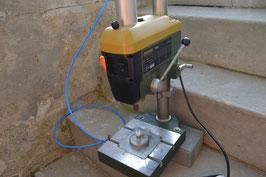 Ständer-Bohrmaschine für Trommelsteine