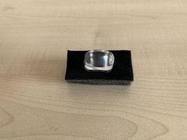 Bergkristall-Fingerring, massiv