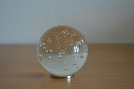 Glaskugel 7 cm, natur-glasklar, kalibriert