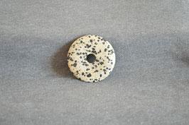 Dalmatiner-Jaspis-Donut 4 cm