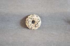 Dalmatiner-Jaspis-Donut 3,5 cm