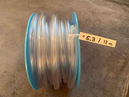 PVC-Schlauch, 15 x 20 mm - Rolle 5.3 mit 12 Meter