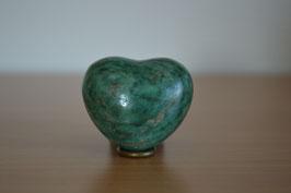 Prasem-Herz - 4,5 cm