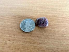 Turmalin-Trommelstein, pink 1 - 4