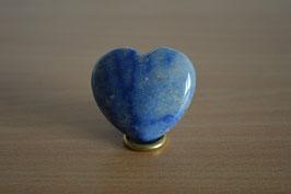 Blauquarz-Herz - 4 cm