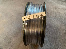 PVC-Schlauch, 8 x 12 mm - Rolle 2.2 mit 14 Meter
