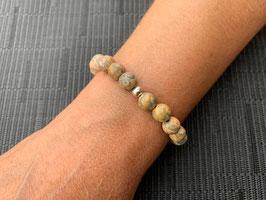 Leopardenfell-Jaspis-Armband - 1