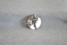 Zebra-Marmor-Donut 3,5 cm