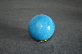 Marmor-Kugel türkis (eingefärbt), 5 cm
