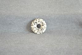 Dalmatiner-Jaspis-Donut 3 cm