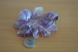 Amethyst-Brocken, mini - 200 g