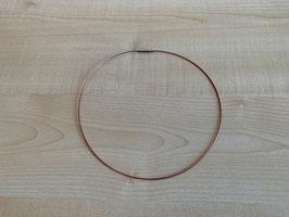 Stahlreif (ummantelt) - rot