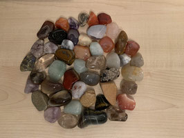 500 g Trommelsteine, gemischt, 1 bis 4 cm
