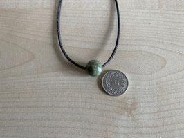 Rhyolith-Kugel 1,2 cm, gebohrt