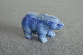 Blauquarz-Bär - 2