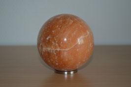 Edelstein-Kugel Orangencalcit, 8 cm