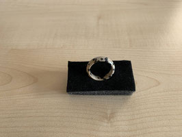 Dalmatiner-Jaspis-Fingerring