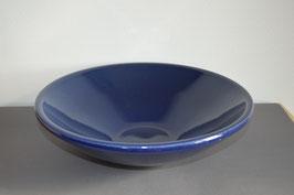 Zimmerbrunnen-Schale 36 cm, blau