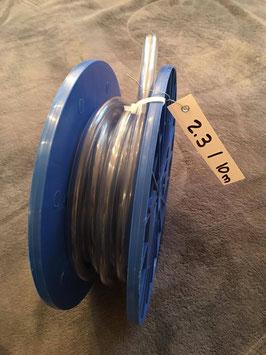 PVC-Schlauch, 8 x 12 mm - Rolle 2.3 mit 10 Meter