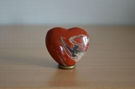 Jaspis rot-Herz - 4 cm