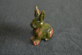 Unakit-Hase, Ohren aufrecht - 2