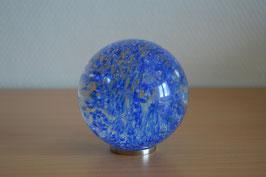 Glaskugel 8 cm, hellblau, kalibriert