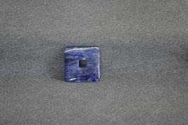 Sodalith-Quadrat-Donut 3 x 3  cm
