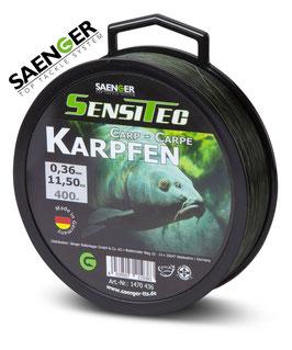 Sensitec Karpfen camou green 400m