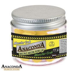 Anaconda  Micro Neon Pop Up's 10mm Monster CraCrab  15g