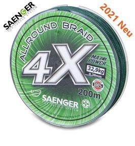Saenger 4 X Allround Braid 200m 0,30mm/28,8kg