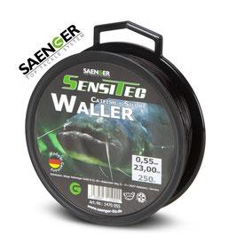 Sensitec Waller night brown 250m 0,55mm