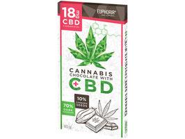 Cannabis Dunkle Schokolade mit CBD, 95g