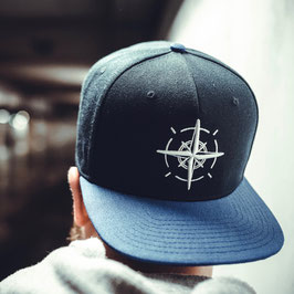 Compass Cap Blau