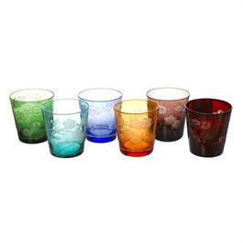 GLASS BLOSSOM set 6