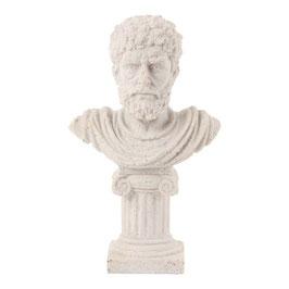 Busto con pedestal