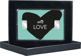 With Love mit zwei Silberbarren ab 1 Gramm - M13S2