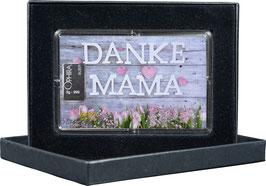 Danke Mama mit einem Silberbarren ab 1 Gramm -Danke Mama- M3S1