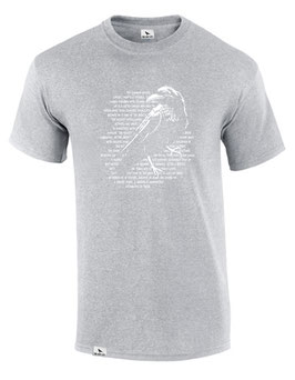 LIGHT & SHADOW T-Shirt (heather grey) L
