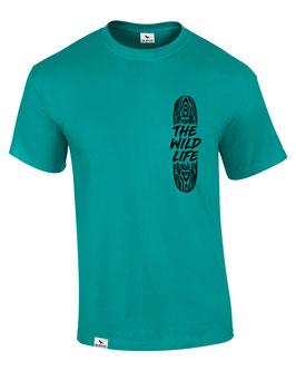SK8BOARD T-Shirt (jade) L