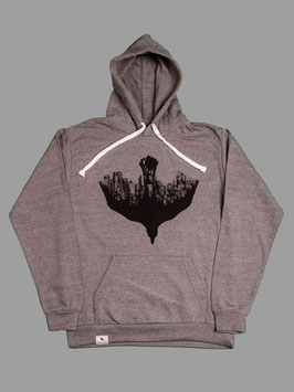 DOWNTOWN Hoodie (mid heather)