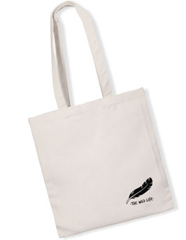 """Feather"" Bag white"
