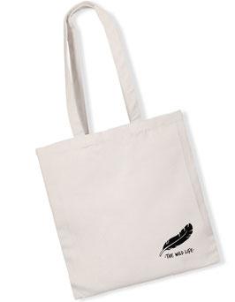 """Feather"" Bag white"