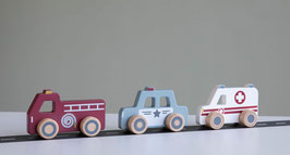 Holz Einsatzfahrzeuge