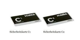 Kaba Sicherungskartenset LEGIC C1 & C2